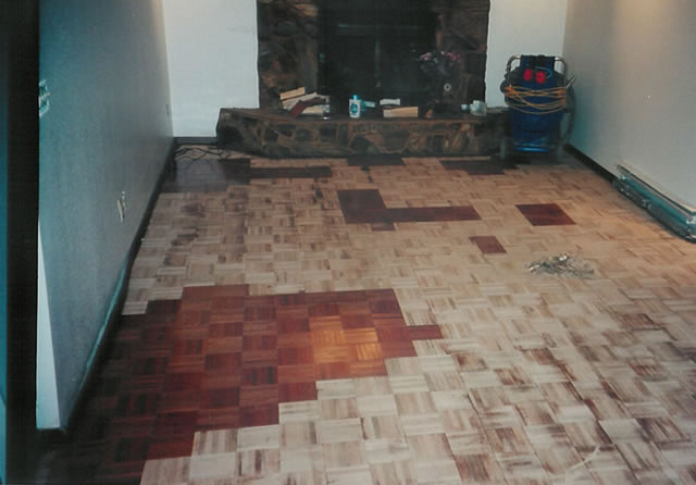 How To Refinish Parquet Floors Pictures